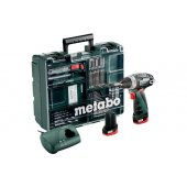Aku šroubovák 2x2,0Ah Li-Ion Metabo PowerMaxx BS Basic Set