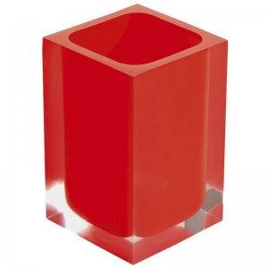 Sklenka na postavení, červená Gedy RAINBOW RA9806