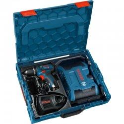 Aku vrtačka 2x2,0Ah Bosch GSR 12V-15 + radio Bosch GPB 12V-10 Professional 0.601.429.204