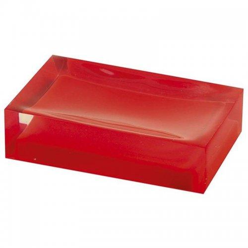 Mýdlenka na postavení, červená Gedy RAINBOW RA1106