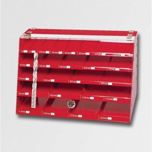 Skříňka s 570 vrtáky HSS 338 RUKO RU205208