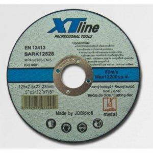 Kotouč řezný na ocel 125x2,5x22,2 XTline SARK12525