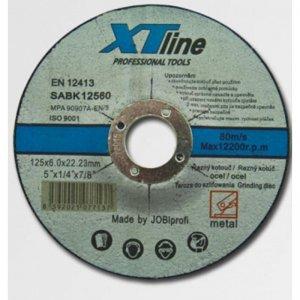 Kotouč brusný na ocel 115x6,0x22,2 XTline SABK11560