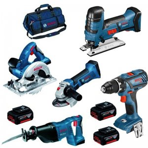 Aku sada 18V 3x4,0Ah nářadí Professional Bosch 0.615.990.K6N