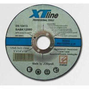 Kotouč brusný na ocel 230x6,0x22,2 XTline SABK23060