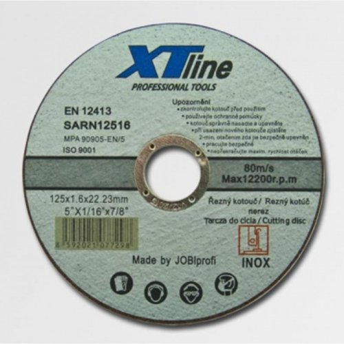 Kotouč řezný na nerez 150x1,0x22 XTline SARN15010