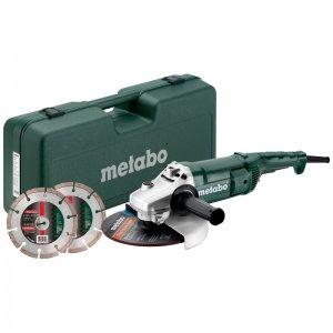 Úhlová bruska 230mm sada Metabo WE 2200-230 691081000
