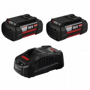 Startovací sada Bosch Starter Set: 2 x GBA 36V 6,0Ah + GAL 3680 CV Professional 1600A00L1U