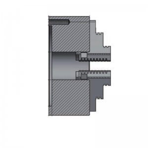 3-čelisťové sklíčidlo s centrickým upínáním průměr 125mm OPTIMUM 3442712