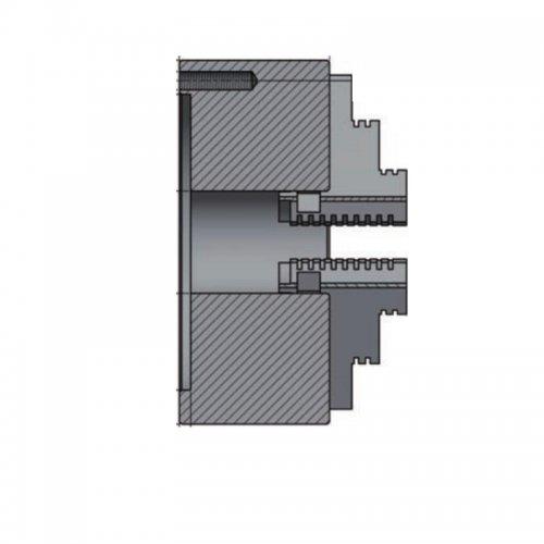 3-čelisťové sklíčidlo s centrickým upínáním průměr 160mm OPTIMUM 3442712