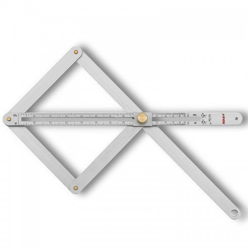 Nastavitelný úhelník170x380mm Sola VK 380