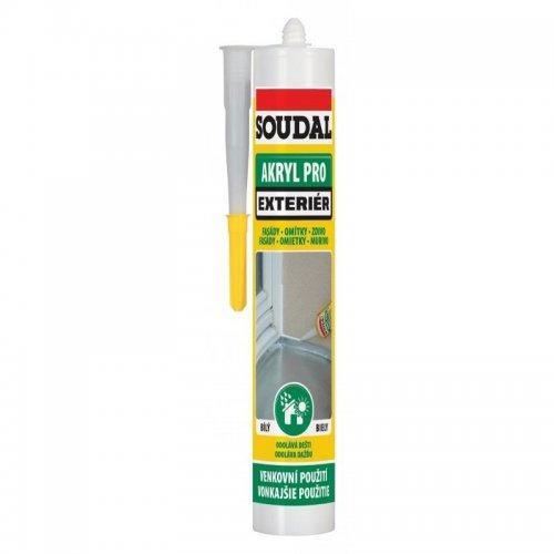 Akryl Pro Exteriér bílý 300ml SOUDAL 1200600