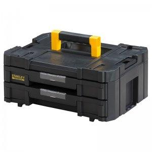 Box se 2 mělkými zásuvkami TSTAK IV Stanley FMST1-71969