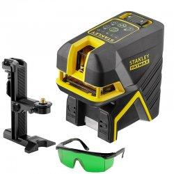 Křížový a bodový laser se zeleným paprskem STANLEY FatMax FMHT1-77438