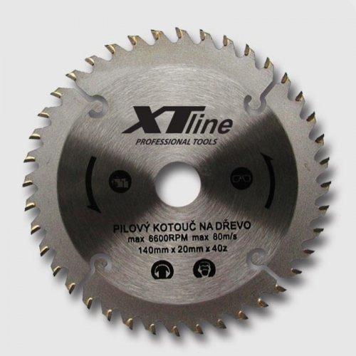 Kotouč pilový na dřevo 200x30/60 zubů Xtline TCT20060