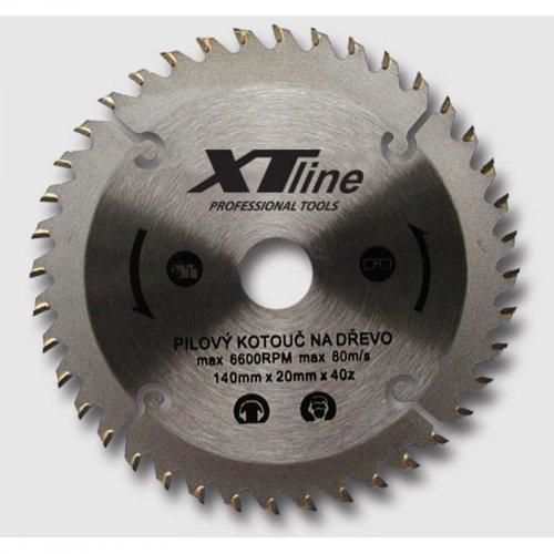 Kotouč pilový na dřevo 210x30/60 zubů Xtline TCT21060