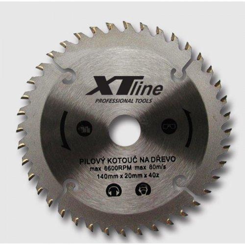Kotouč pilový na dřevo 140x20/40 zubů Xtline TCT14040