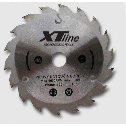 Kotouč pilový profi 160x20/48 zubů Xtline TCT16048