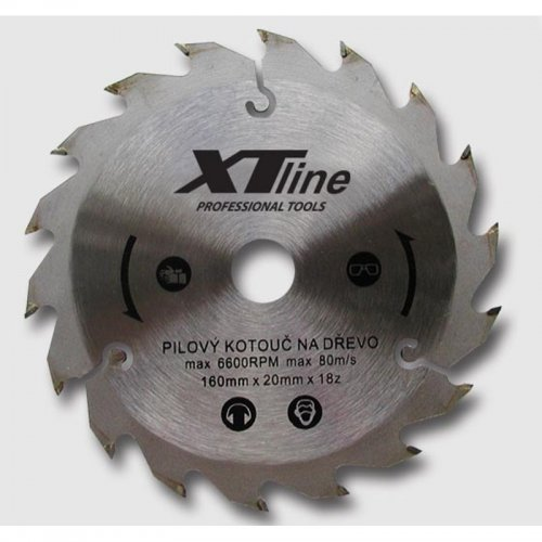 Kotouč pilový profi 500x30/80 zubů Xtline TCT50080