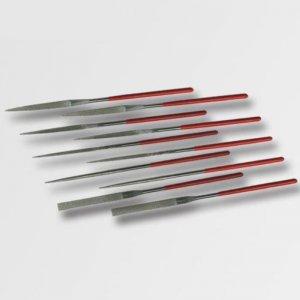 10-ti dílná sada jehlových pilníků s diamantovým povrchem STAVTOOL P18803