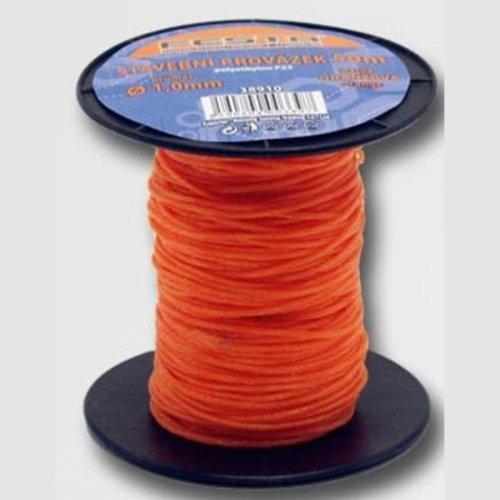 Provázek 50 m 1 mm oranžový ZN38910