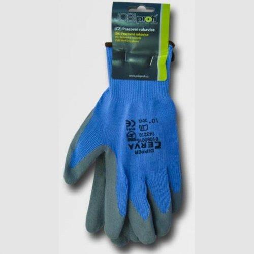 """Rukavice máčené v latexu DIPPER velikost 10"""" JA143210/10"""