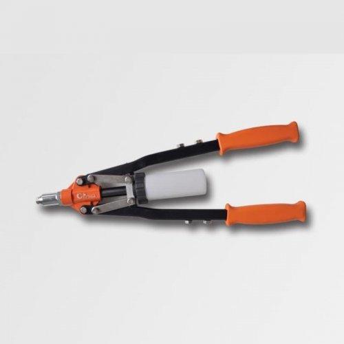 Nýtovací kleště čelní pákové 450mm nýty Al, Cu, ocel, nerez průměr 2.4, 3.2, 4.0, 4.8, 6.4 CORONA PC0740