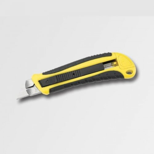 Nůž 18mm bezpečnostní pogumovaný ASSIST P19144