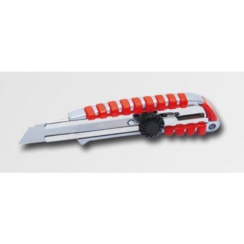 Ulamovací nůž 18mm celokovový se šroubovou aretací XTline PA222634