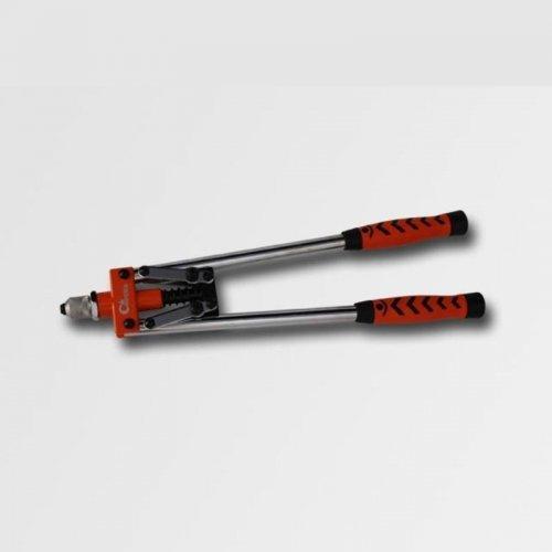 Nýtovací kleště čelní pákové 550mm nýty Al, Cu, ocel, nerez průměr 2.4, 3.2, 4.0, 4.8, 6.4 CORONA PC0730