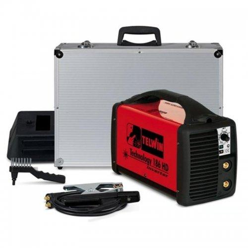 Svařovací invertor + kufr TELWIN TECHNOLOGY 186HD