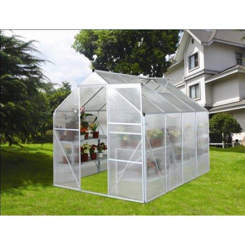 Zahradní skleník z polykarbonátu + základna zdarma VEGA 5000 STRONG