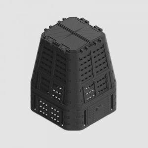 Kompostér černý MULTI 650L Xtline P90661