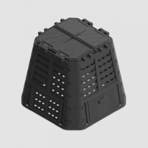 Kompostér černý MULTI 420L Xtline P90660