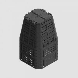 Kompostér černý MULTI 880L Xtline P90662