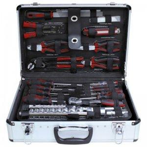 Profesionální hliníkový kufr s nářadím 162 dílů Sixtol ZUR-TS0495